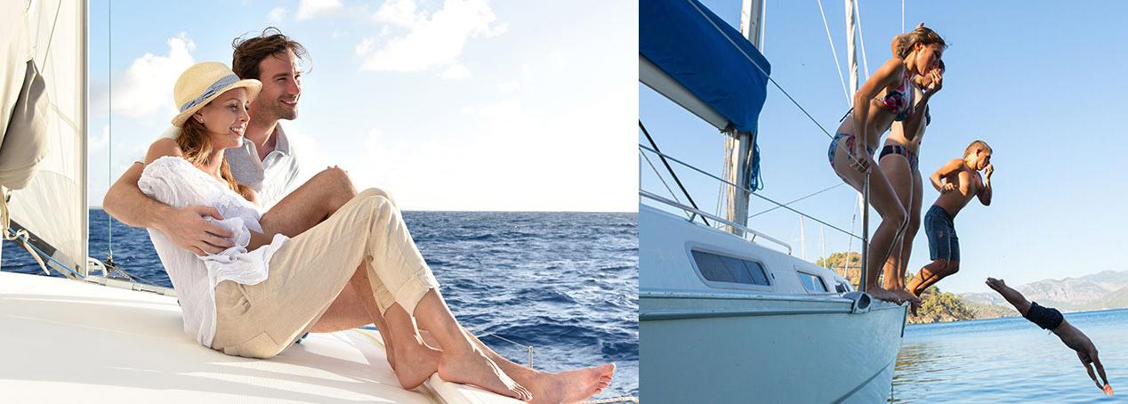 Die Yachtunfall-Versicherung schützt Sie und Ihre Crew vor den finanziellen Folgen eines Unfalls an Bord.